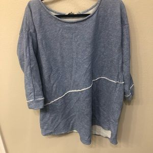 Soft surroundings long sleeve sweater size large